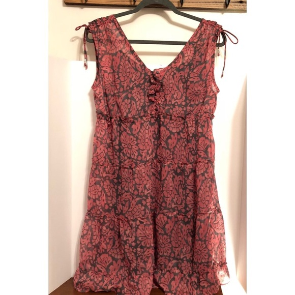 American Eagle Outfitters Dresses & Skirts - American Eagle Pink and Gray Dress
